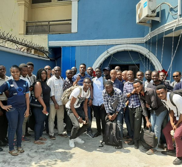 Sunday Ukafia at Lagos WooCommerce Community Meetup
